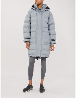 adidas by Stella McCartney Padded hooded shell jacket