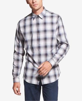 DKNY Men's Plaid Shirt
