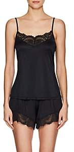 Hanro Women's Laila Lace-Trimmed Camisole - Black