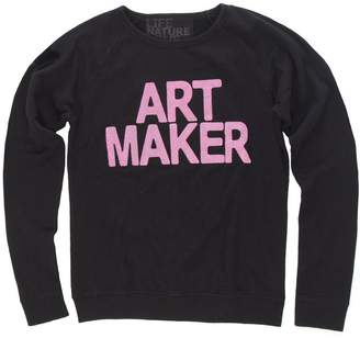 Freecity Fuzzy Art Maker Raglan Sweatshirt