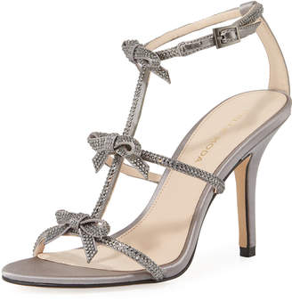 Pelle Moda Kiss Crystal-Embellished High Sandal