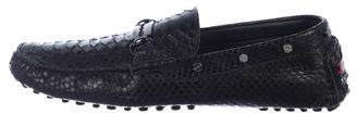 Philipp Plein Python Driving Loafers