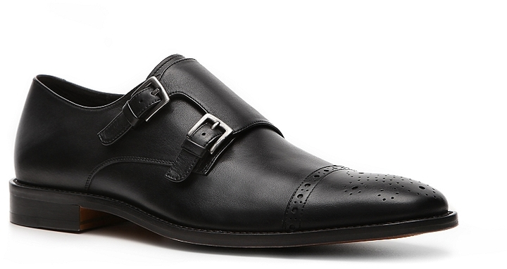 Aston Grey Tisdale Double Monk Slip-On