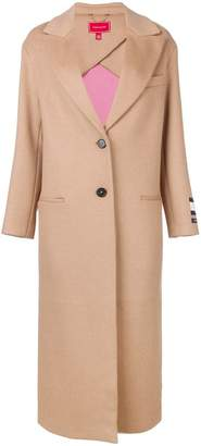 Tommy Hilfiger oversized single-breasted coat