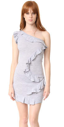 DSQUARED2 One Shoulder Dress $485 thestylecure.com