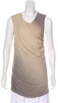 Obakki Sleeveless Wool Top