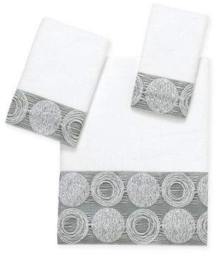 Galaxy Hand Towel in White