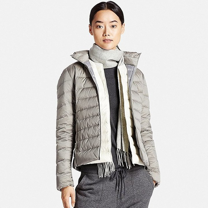 uniqlo women ultra light down jacket shopstyle. Black Bedroom Furniture Sets. Home Design Ideas