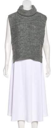3.1 Phillip Lim Turtleneck High-Low Sweater