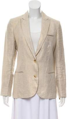 Zadig & Voltaire Embellished Linen Blazer