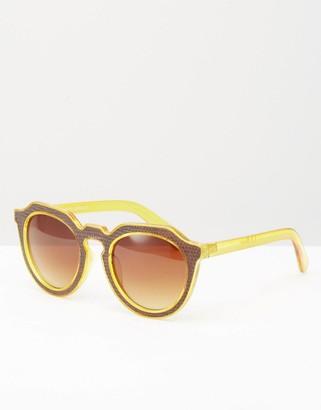 AJ Morgan Round Sunglasses $13 thestylecure.com