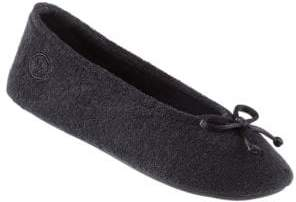 Isotoner Terry Ballet Flat Slippers