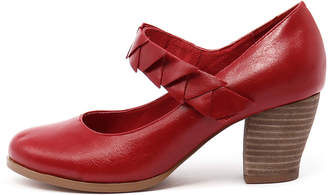 I Love Billy New Deeta Red Womens Shoes Casual Shoes Heeled