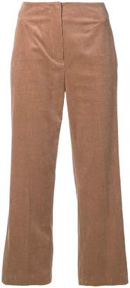 Luisa Cerano cropped corduroy trousers