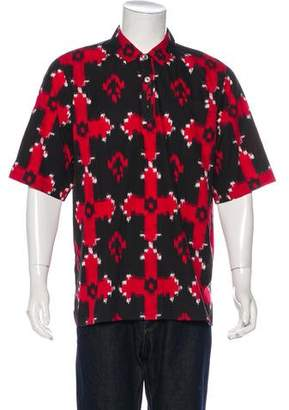 Kris Van Assche Native Patterned Shirt