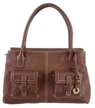 Loro Piana Grained Leather Tote