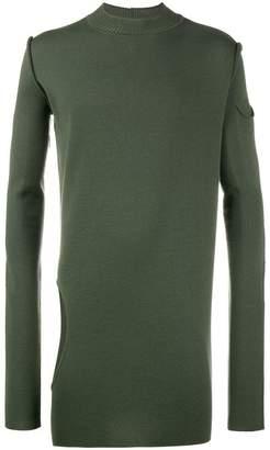 Rick Owens Subhaman cutout sweater
