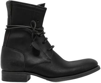 5 Hole Leather Boots