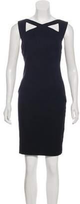L'Agence Cut-Out Mini Dress