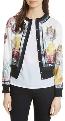 Ted Baker Olyviaa Tranquility Woven Jacket