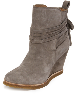 Splendid Tabitha Wedge Booties $179 thestylecure.com