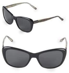 Vera Wang 54MM Butterfly Sunglasses