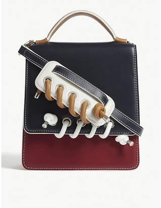 SCOTRIA Power leather satchel
