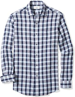 Buttoned Down Men's Classic Fit Spread-Collar Sport Shirt