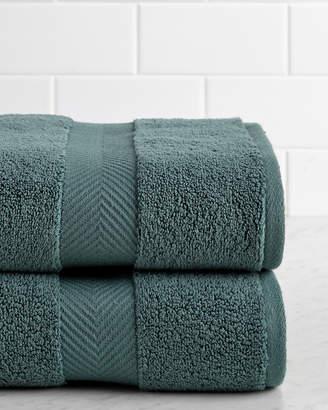 Superior Zero Twist Set Of Two Bath Towels