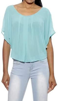 YMI Jeanswear Mint Sheer Top