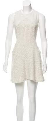 Theyskens' Theory Sleeveless Bouclé Dress