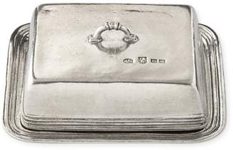 Williams-Sonoma Pewter Butter Dish
