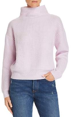Enza Costa Funnel Neck Cashmere Sweater