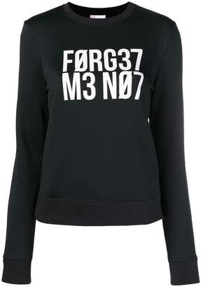 RED Valentino Forget Me Not sweatshirt