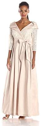 Jessica Howard Women's Ball Gown with Sash $128.99 thestylecure.com