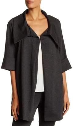 Insight Shawl Collar Draped Jacket