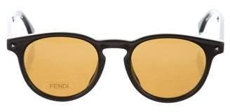 Fendi Tinted Round Sunglasses w/ Tags