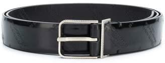 Maison Margiela logo-embossed belt