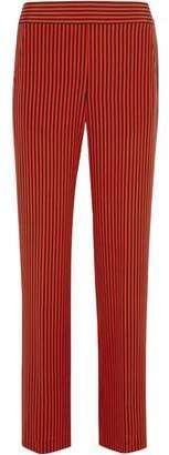 Etro Striped Silk-Satin Wide-Leg Pants