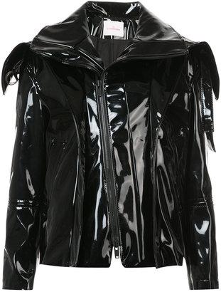 exaggerated collar jacket
