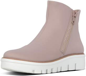 FitFlop Chunky Zip Ankle Boots