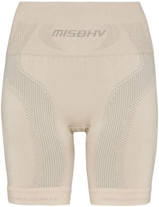 Misbhv sport knit compression shorts