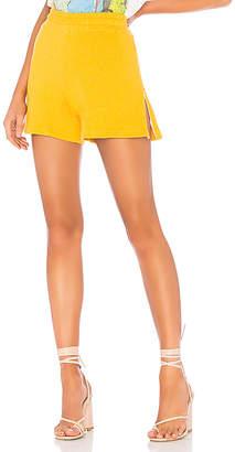 Monrow Side Zip Shorts