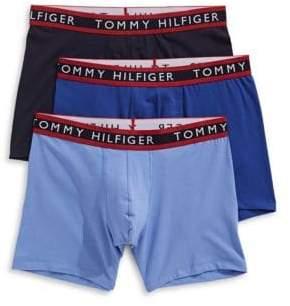 Tommy Hilfiger Three-Pack Cotton Stretch Boxer Briefs