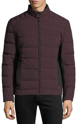 MICHAEL Michael Kors Men's Quilted Stretch Down Fill Jacket