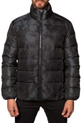 Jared Lang Geneva Camo Puffer Jacket