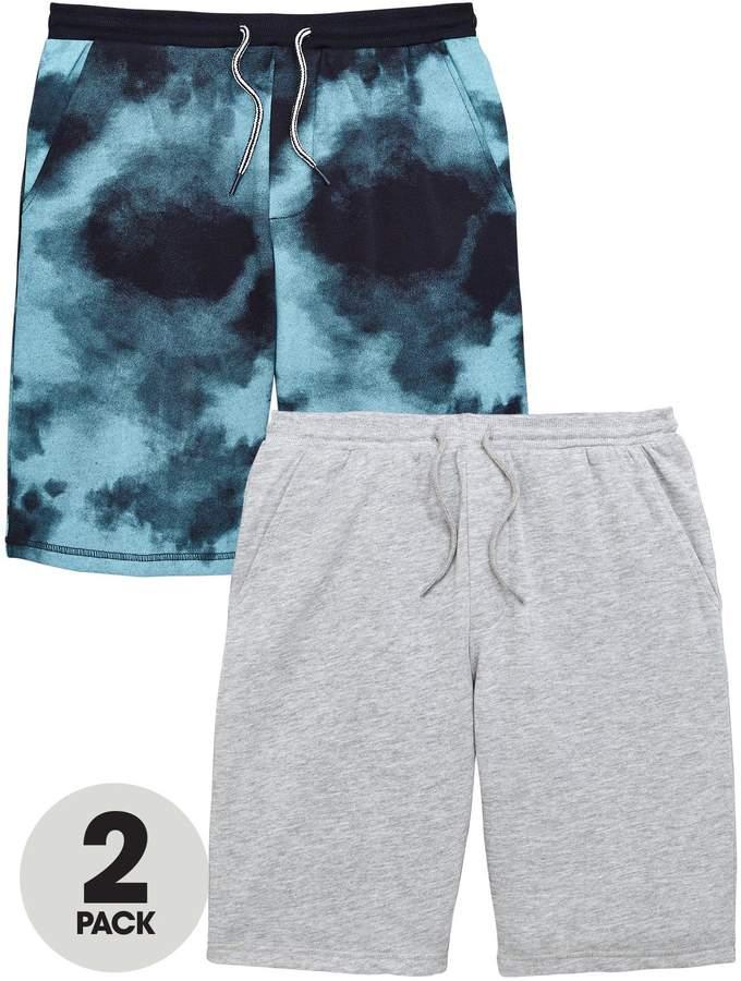 2 Pack Fashion Sweat Shorts