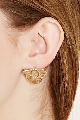 Forever 21 Faux Stone Art Deco Studs