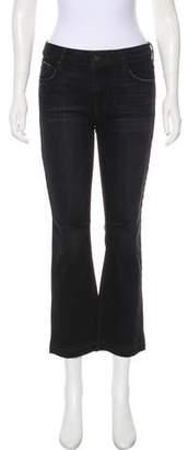 RtA Denim Mid-Rise Straight-Leg Jeans