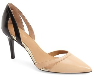 Women's Calvin Klein 'Giorgi' Pointy Toe Pump $108.95 thestylecure.com